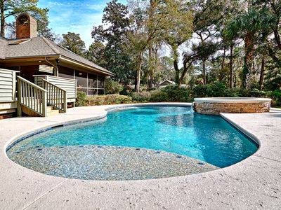 Photo for 4 Red Maple - 4 BR/4.5BA Private Home in Sea Pines on 17th Tee of Heron Pointe!