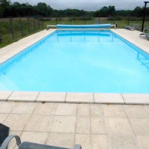 12x5m salt water pool, with security fence. Heated to 27C