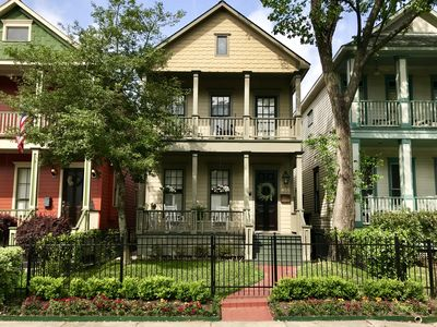 Photo for Houston Heights Victorian single-family home