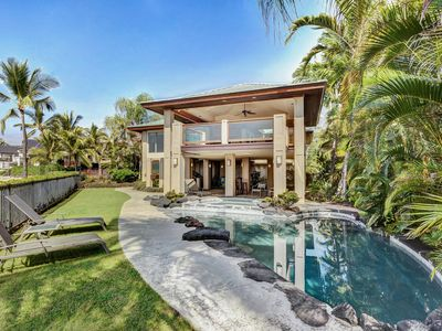 Photo for Ocean Front Island Home | Pool | Gated Kona Bay Estates | Starting at $869/nt