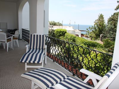 Photo for Comfortable apartment with thermal pool and fantastic sea views