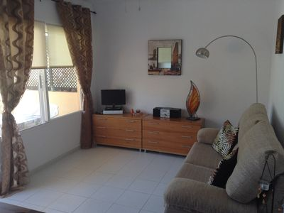 Photo for Lovely Ground Floor Apartment On Las Dunas Residential,Corralejo. Private Patio