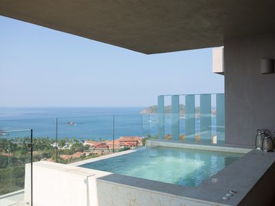 Photo for Punta Ixtapa, exclusive 4 bedroom apartment with spectacular views