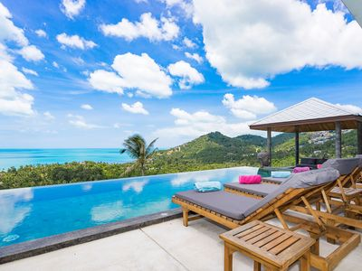 Photo for CHAWENG OCEAN VIEW VILLA - FOR GROUPS