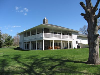 Photo for Rivendell: Peaceful and Perfect Home Located on Vineyard Lake and close to MIS