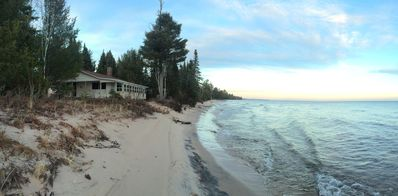 Access to the best white sand beach in the Keweenaw!