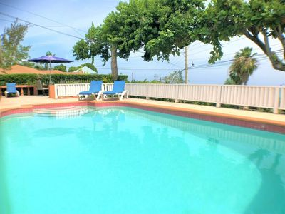 Photo for WALK TO BEACH IN MINUTES! COOK/MAID! POOL! CASUAL JAMAICA -Miss Ps Place- 1BR