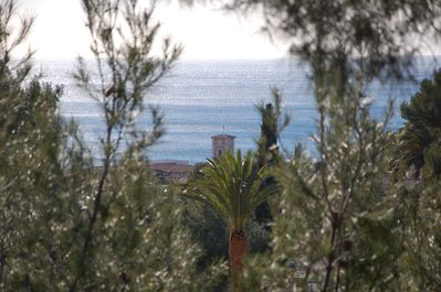 Sea view from the terrace