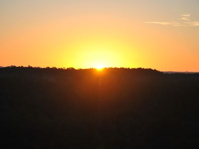 Photo for Romantic Couples Cabin! Enjoy breathtaking sunrise views and quiet seclusion.