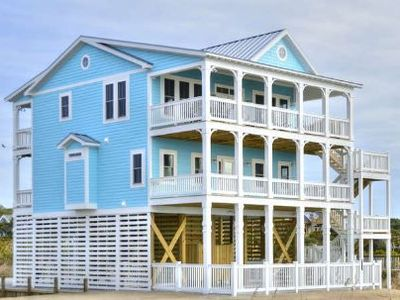 Photo for Bridgewater-PRIVACY!!! ON THE BEACH!!! 5 Bedrooms/3.5 Bath/Sleeps 10 with Private POOL!!!
