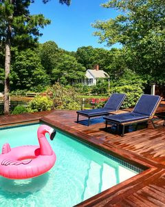 Photo for Family Getaway: Heated Pool, Hot Tub And Deep Water Dock