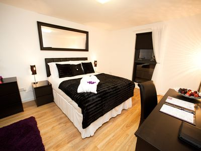 Photo for Luxury Serviced Apartments with free parking and high speed wifi