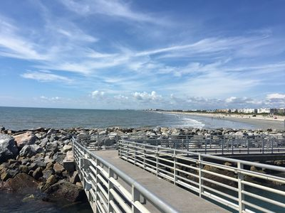 Jetty Park in Cape Canaveral! Great place to fish!!!
