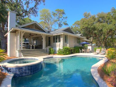 16 Wagon Rd. - Luxury Home in Sea Pines w/ Private Pool & Spa