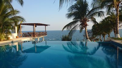 Photo for Luxury Oceanfront Home – Infinity Pool;Casa Junto al Mar 20%OFF March 12-16 2019