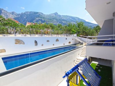 Photo for Apartment in Makarska (Makarska) , capacity 2+1