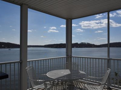 Photo for Stunning  180° Panoramic Views of Main Channels, Island Waterfront 3 bd 2 bath