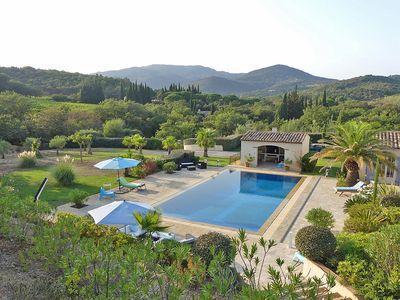 Photo for Beautiful property with marvelous garden and pool near Grimaud-Village