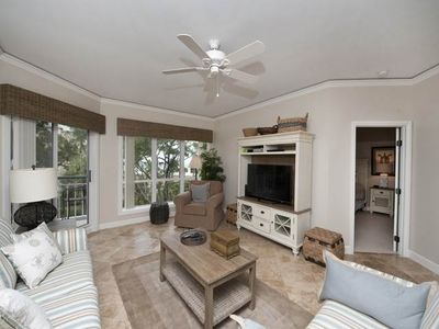 Beautifully decorated third floor oceanfront villa has been completely remodeled.
