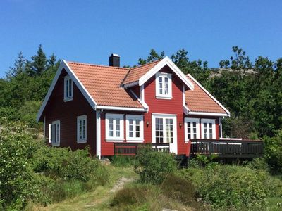 Photo for Holiday house in Southern Norway for 8 people incl. 15 hp boat