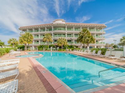 Photo for Paradise30A~Inn at Seacrest Unit 410, Studio Pool View, Gulf Views, Walk to Rosemary