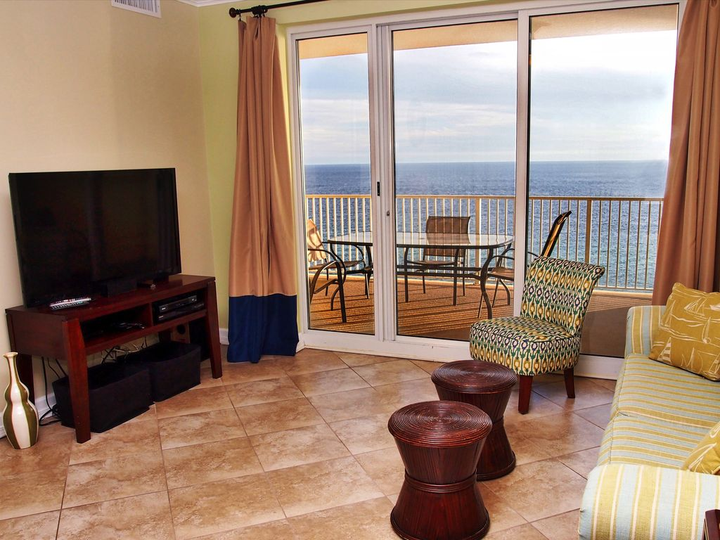 Gorgeous 2 bed 2 bath gulf front condo amazing views on for 15th floor on 100 floors