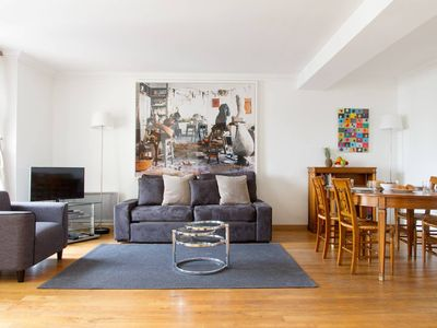 Photo for In the Heart of St. Germain – Views of Odeon - Spacious 2BR