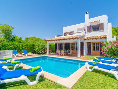 Photo for CA NA MARTINA - Villa with private pool in Cala d'Or.