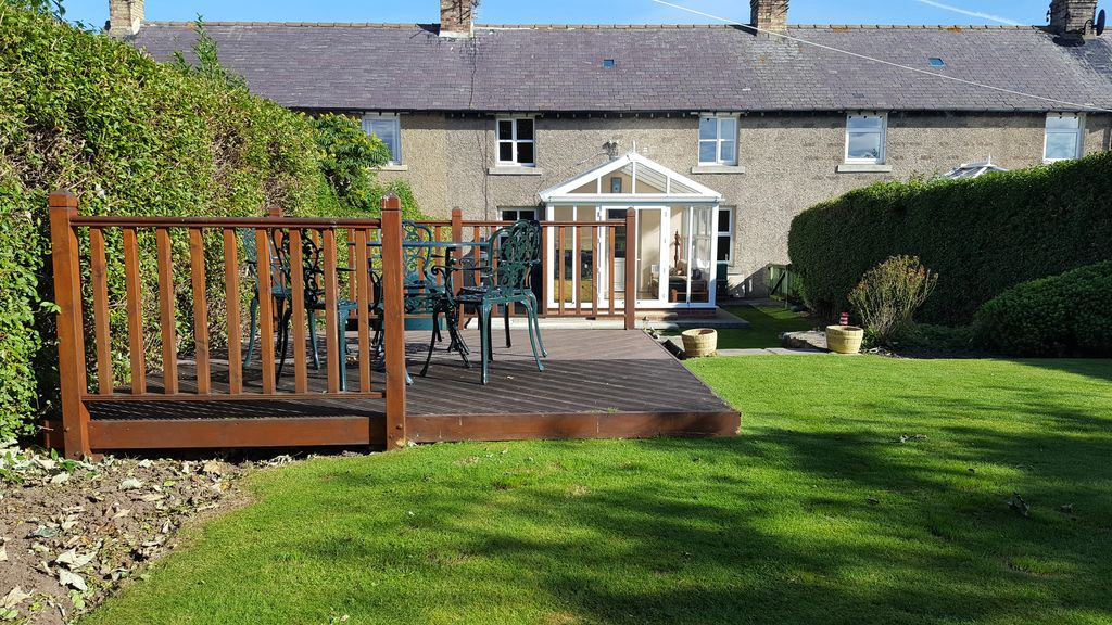 lennor cottage in seahouses near beach garden dog friendly wood rh homeaway co uk