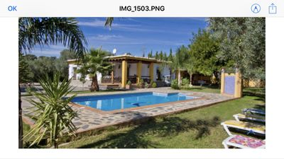 Photo for Rural house (full rental) El Refugio de Laura for 6 people