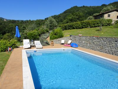 Photo for Secluded Mountain Villa with Private Pool, Stunning Views