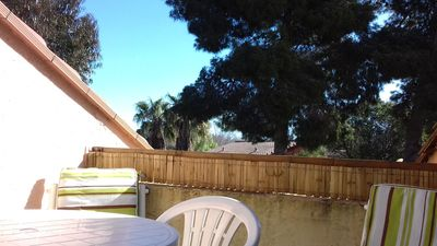Photo for Very pretty apartment! 4 Beds and Terrace, Pool, 5 Mn from the Sea