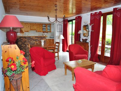 Photo for Charming chalet in the mountains, not overlooked, quiet, nice view terrace garden