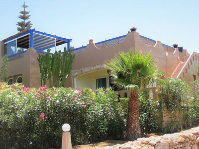 Photo for DETACHED VILLA, SEASIDE, Residence with POOL-TENNIS, SOUTH MOROCCO