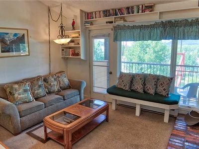 Photo for Superb 2BD Condo w. Hot Tub Access, Across the Street from Quicksilver Lift!