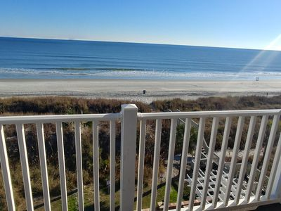 Photo for Beautiful Ocean Front Condo. 6 Large Bedrooms, Game room with Pool table!
