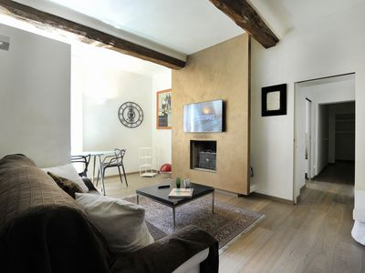 Photo for Santo Stefano - elegant, modern two bedroom apartment in Bologna city center