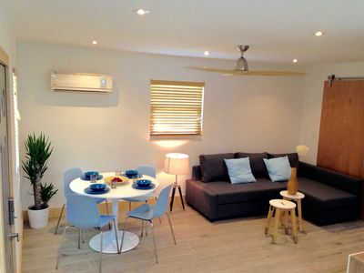 Photo for Zen beach Suites #1 - modern design for peaceful vacations