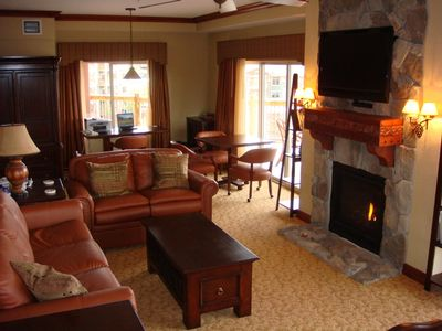Photo for PRESIDENTIAL SUITE; 4 King BR/BTH;; Sleeps 14;  Ski I/O; Pvt Hot Tub, 80'balcony