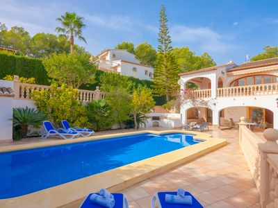 Photo for SONRISAS, villa with private pool on the coast of Benissa, Alicante