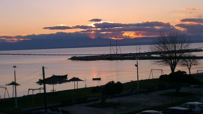Photo for Big house (170m),20m to beach,view to Olympus,near to Thessaloniki airport