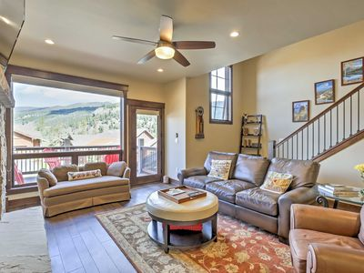 Photo for Keystone Townhome w/Deck -  Close to Shuttle Stop!