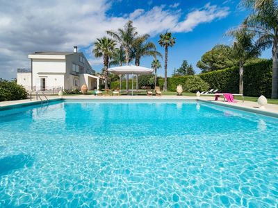 Photo for 5 bedroom Villa, sleeps 10 in Ufra with Pool, Air Con and WiFi