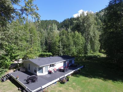 Photo for Secluded 20 Acre Property 5 Min From Ski Hill - Sleeps 6-10