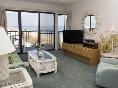 Photo for Summer Beach Condo - Pool, Wi-Fi, Free Linens & Ocean View - Near Boardwalk!