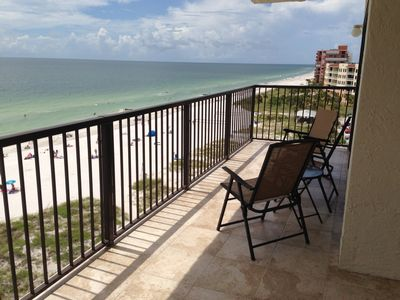 Photo for Beachfront, 2 BR/2 Bath, End Unit, Great Views, Sleeps 5-6