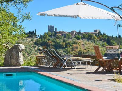 Photo for 1BR Country House / Chateau Vacation Rental in Gaiole in Chianti