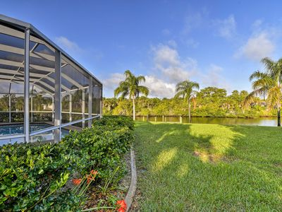 Photo for Peaceful Port Charlotte Home w/Lanai, Pool & Dock!