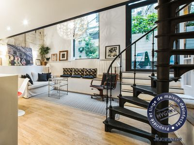 Photo for Superb atypical and charming apartment for 4 people