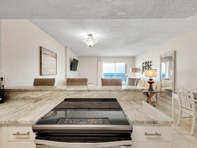 Photo for Beautiful Direct Gulf Views From Private 2nd Floor Balcony, Clearwarter #2C